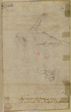 Angel and male figure (verso)