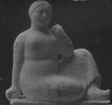 Sculpture of a woman