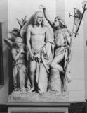 Plaster model of Baptism of Christ for La Madeleine