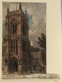 View of West Walton Church, Lynn, Norfolk