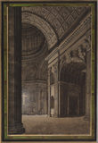 View of the interior of Saint Peter's, Rome