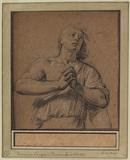 Study of a woman praying