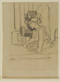 Seated girl, Wellington House