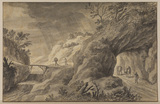 Rocky landscape with road