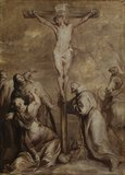 Crucifixion with Saint Francis