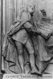 Westminster Abbey;Abbey Church;Monument to George Frederick Handel