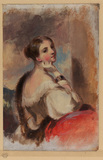 Half-length portrait of a lady (recto)