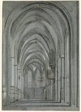 The south ambulatory of Saint Bavokerk, Haarlem