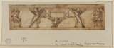 Design for a sarcophagus with a frieze