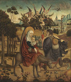 Flight into Egypt (after Martin Schongauer)