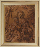 Madonna and Child and young Saint John the Baptist