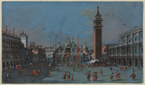 View of the Piazza San Marco, Venice