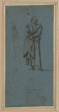 Standing figure of a man (verso)