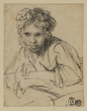 Study for the painting A Girl at a Window, of 1645