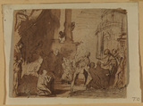 Study for 'The Judgment of Solomon' (recto)