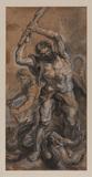 Hercules killing the Lernaean Hydra