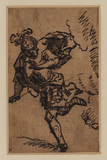 Man in Roman costume