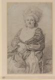 Portrait of a woman (Mrs Gainsborough?)