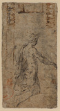 Study of a young man (verso)
