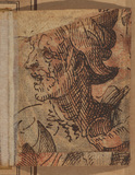 Head of a man (verso)