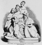 The five daughters of the Count of M...