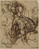 Figures from Michelangelo's 'Last Judgment'