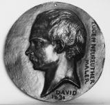 Medallion of Eugene Neureuther Maler