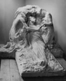 Model of La Resurrezione for the tomb of Hermann Bauer in the Staglieno Cemetery