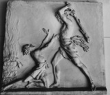 The Death of Abel, metope for Tempio
