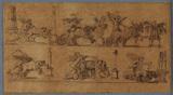 Sheet of ornamental motives