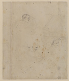 Drawings related to Fuseli's 'The Artist in Conversation with Bodmer' (1779/80) (verso)