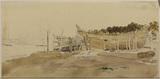 Shipbuilding yard