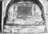 Tomb of William Pecke and his wife