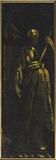 Saint standing in a niche (fragment)