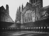 Abbaye du Mont-Saint-Michel;Cloister