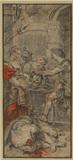 Salome receiving the head of Saint John the Baptist