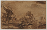 Study for 'The Conversion of Saint Paul'