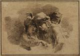 Group of three children