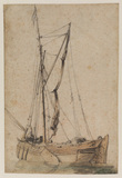 Fishing boat (recto)