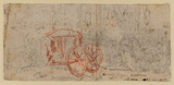 Study of a carriage (verso)