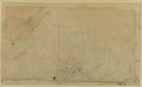 Sketch of architectural detail (verso)