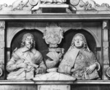 Monument to Sir Robert Barkham and his wife Mary