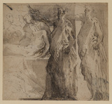 Study for 'The Entombment'