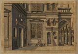 Courtyard of an Italianate palace