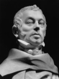 Portrait bust, possibly Count de Pourtales