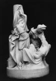 Britomartis Releasing Amoret, from Spenser's The Faerie Queene