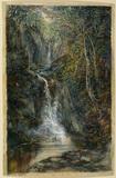 Waterfall, Pystyll Rhaidr