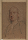 Portrait of Jonathan Richardson the Younger in a wig