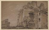 Roman ruin on the Palatine
