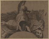 Decorative motif of classical armour